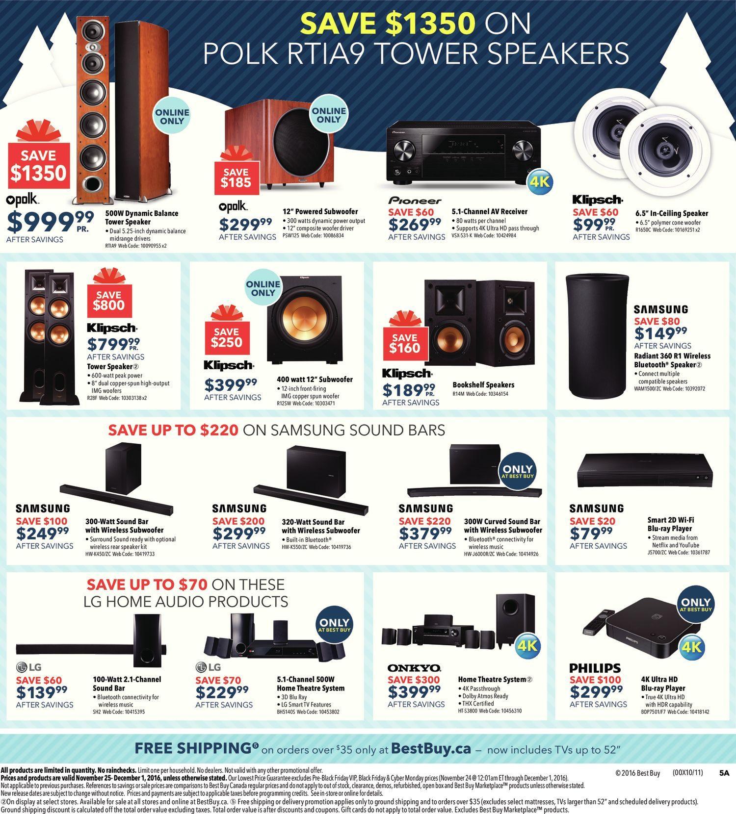 de8b381d68a Best Buy Weekly Flyer - Weekly - Black Friday Sale - Nov 25 – Dec 1 -  RedFlagDeals.com