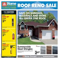 - Weekly - Roof Reno Sale Flyer
