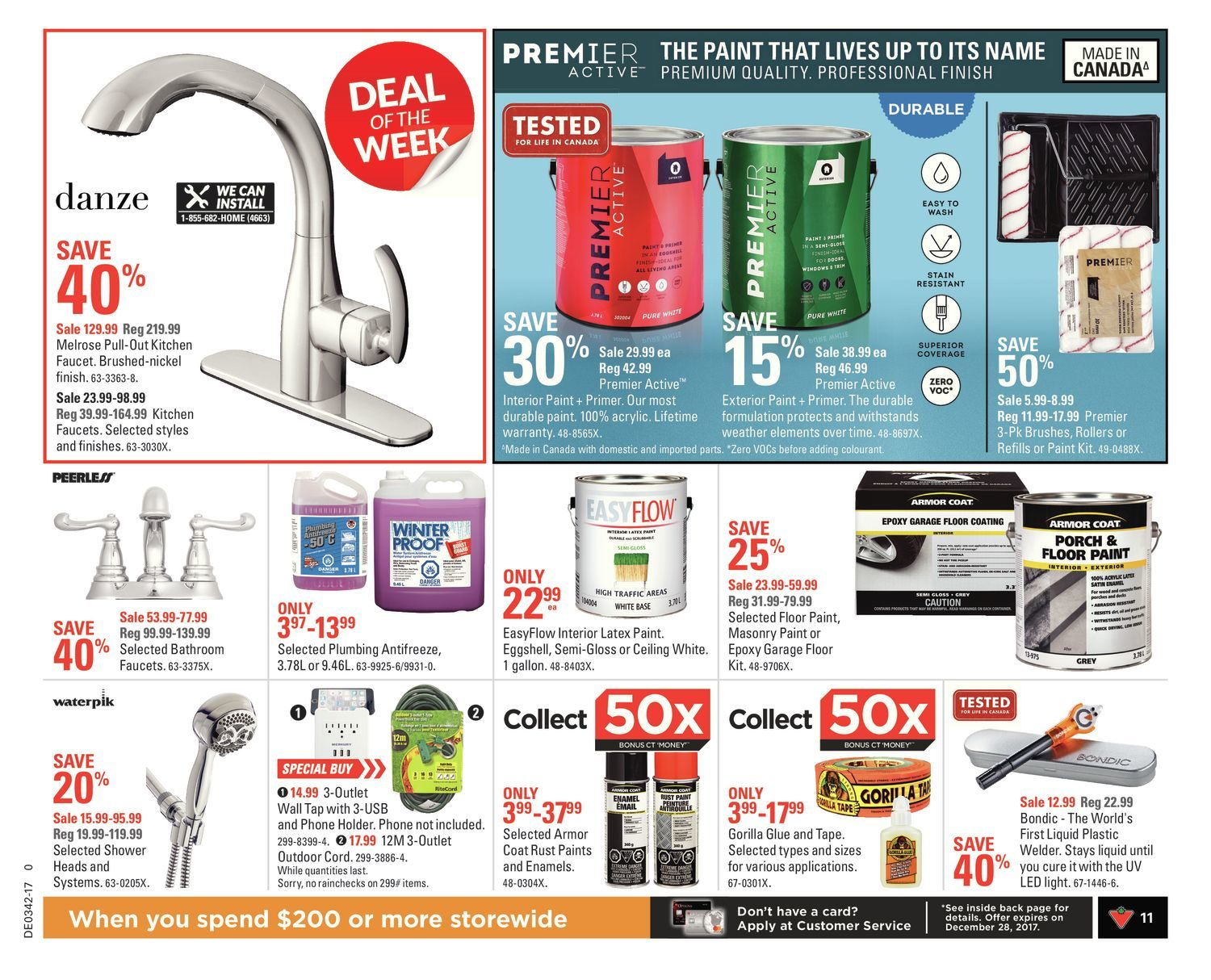 Canadian Tire Weekly Flyer - Weekly - Fall Change Up - Oct 13 – 19 ...