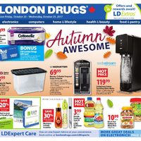 London Drugs - 6 Days of Savings - Autumn Awesome Flyer