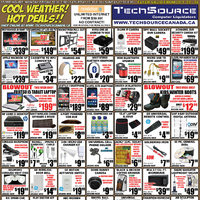 Tech Source - Cool Weather! Hot Deals!! Flyer