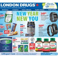London Drugs - 6 Days of Savings - New Year, New You Flyer