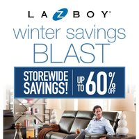 La-Z-Boy - Winter Savings Blast Flyer