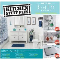 Kitchen Stuff Plus - Better Bath Event Flyer