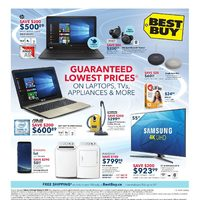 Best Buy - Weekly - Guaranteed Lowest Prices Flyer