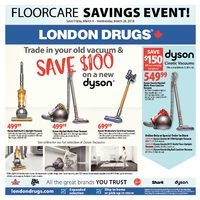 London Drugs - Floorcare Savings Event! Flyer