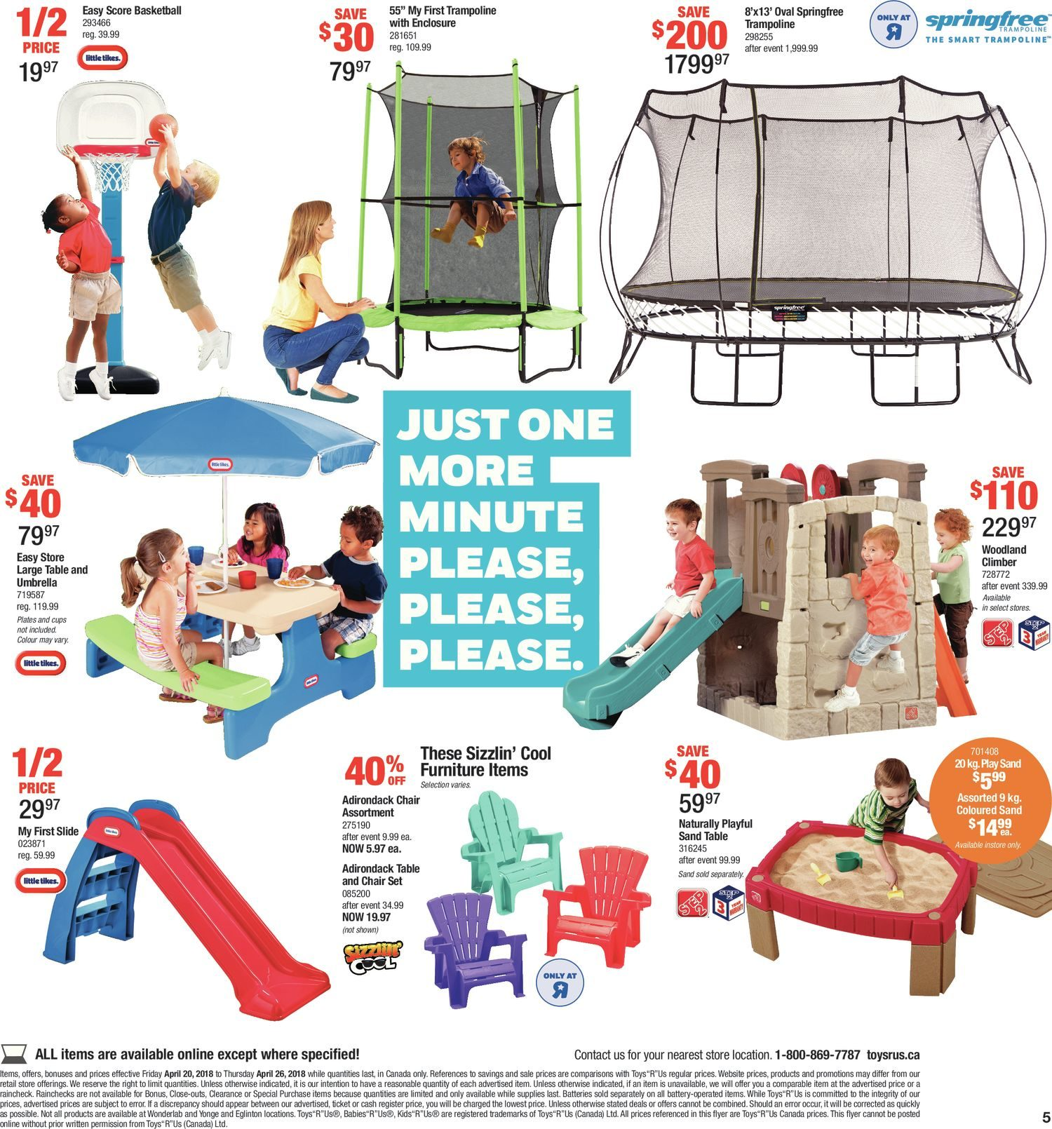 Toys R Us Weekly Flyer - Weekly - Apr 20 – 26 - RedFlagDeals.com