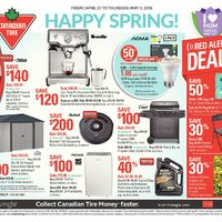 Canadian Tire - Weekly - Happy Spring! Flyer
