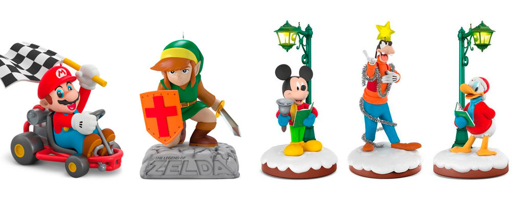 Hallmark Unveils Mario Kart, Zelda, Disney & More Keepsake Ornaments In 2018 Dream Book
