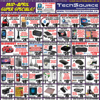 Tech Source - Mid-April Super Specials! Flyer