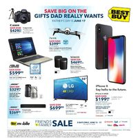 Best Buy - Weekly - Save Big On The Gifts Dad Really Wants Flyer