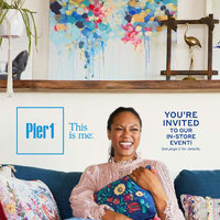 Pier1 Import - Monthly Books - This Is Me Flyer