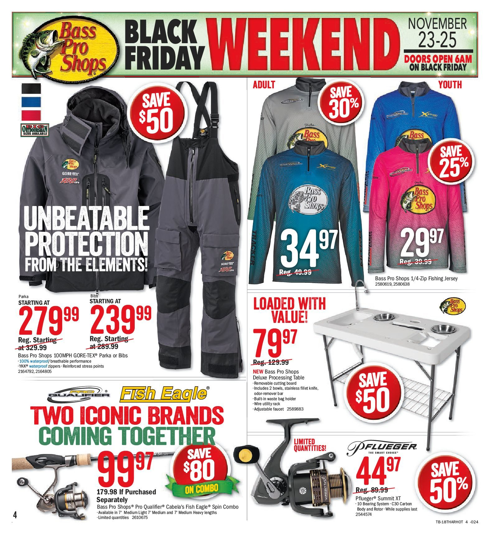 5e8b5e5a3cfdd Bass Pro Shops Weekly Flyer - Vaughan Only - Black Friday Weekend - Nov 21  – Dec 2 - RedFlagDeals.com