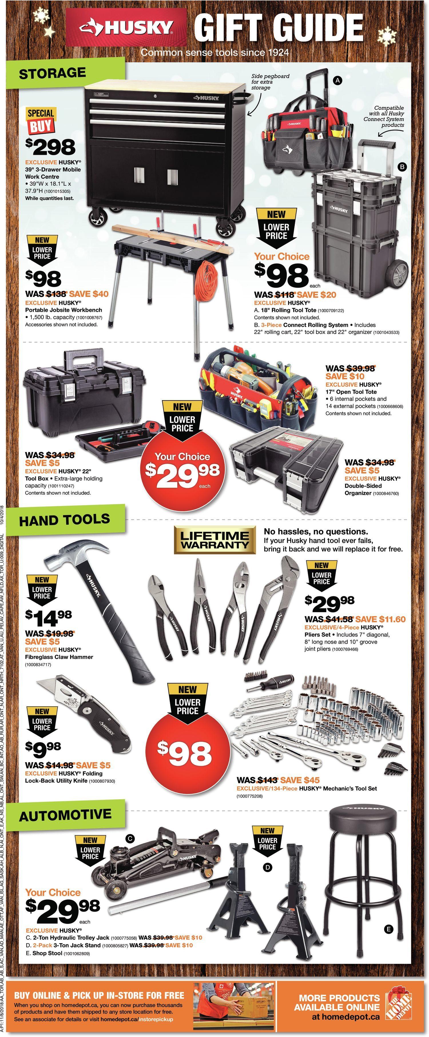 Home Depot Weekly Flyer - Weekly - Black Friday - Nov 22