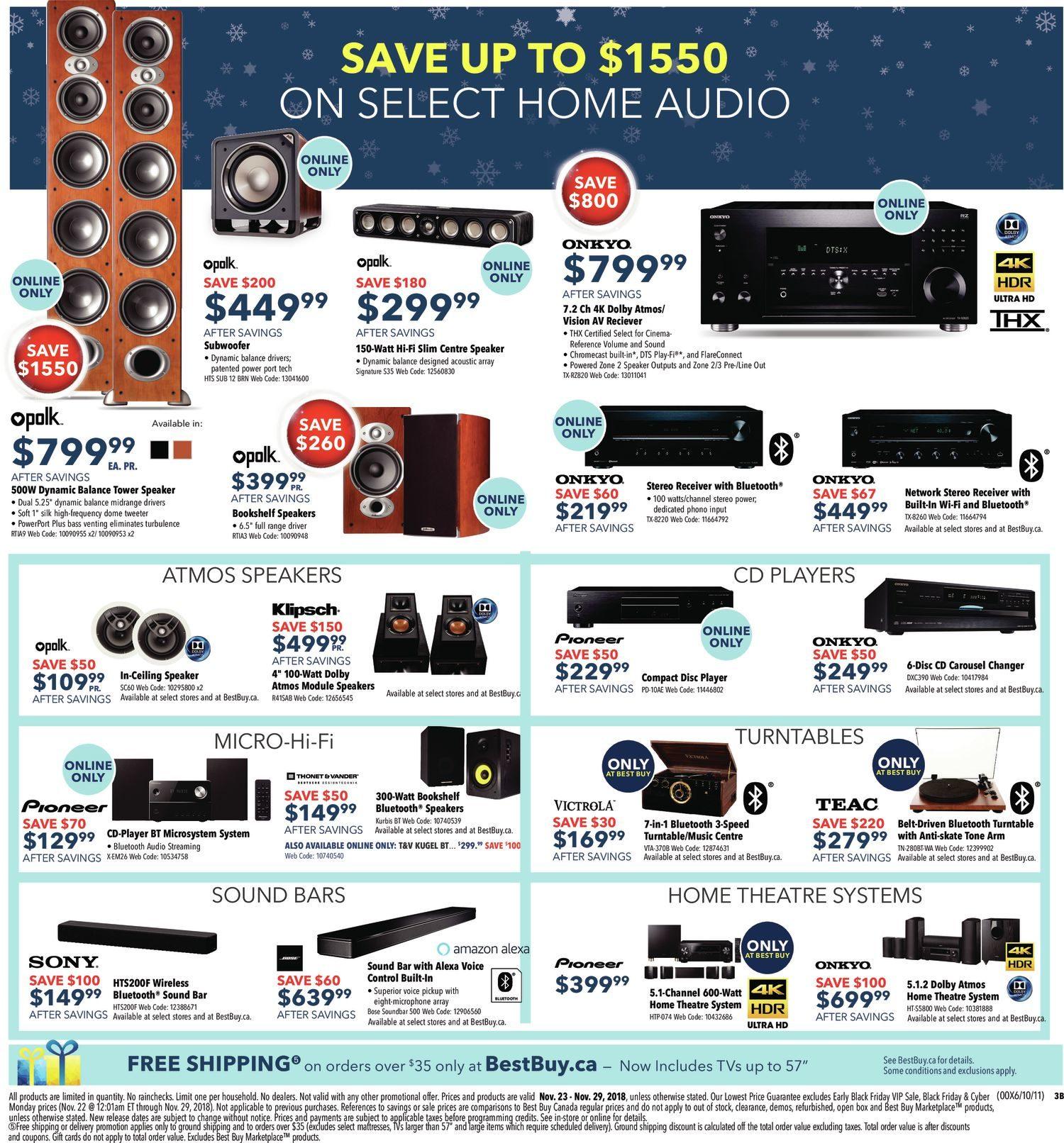 Best Buy Weekly Flyer Black Friday Sale Nov 23 29 Suoer 2 In 1 Inverter Charger 500 Watt Typer Saa 500w C