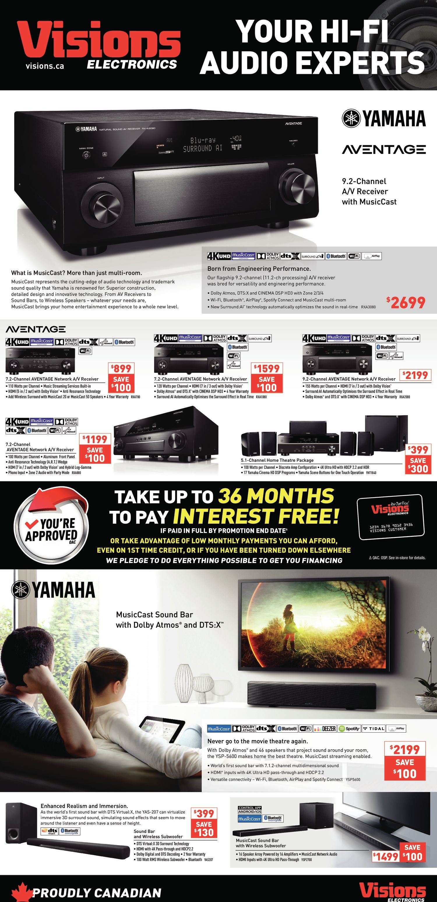 Visions Electronics Weekly Flyer - Ontario Only - Boxing Day