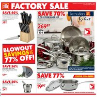 Home Hardware - Factory Sale Flyer