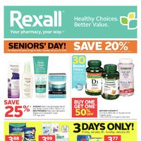 Rexall - London Only - Weekly Specials Flyer