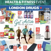 London Drugs - Health & Fitness Event Flyer