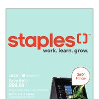 Staples - Weekly - Turn To-Do To Done Flyer