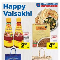 Real Canadian Superstore - World Foods - Happy Vaisakhi Flyer