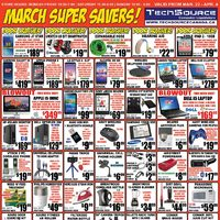 Tech Source - March Super Savers! Flyer