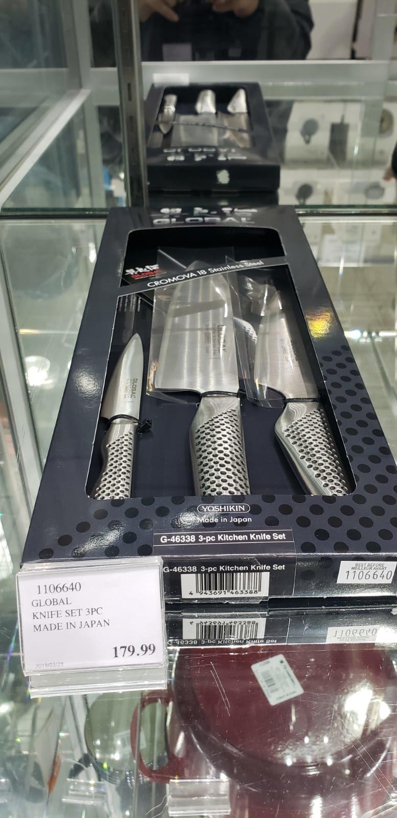 Costco Ca Global 3 Piece Knife Set 129 99 Redflagdeals Com Forums