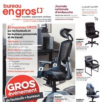 Staples - 2 Weeks of Savings - Big Chair & Desk Event Flyer