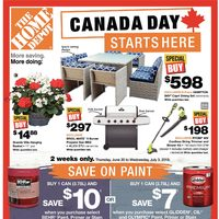 Home Depot - Weekly - Canada Day Starts Here Flyer