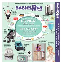 Babies R Us - 10 Days of Savings - Mix & Match Event Flyer