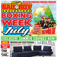 - Boxing Week In July Flyer