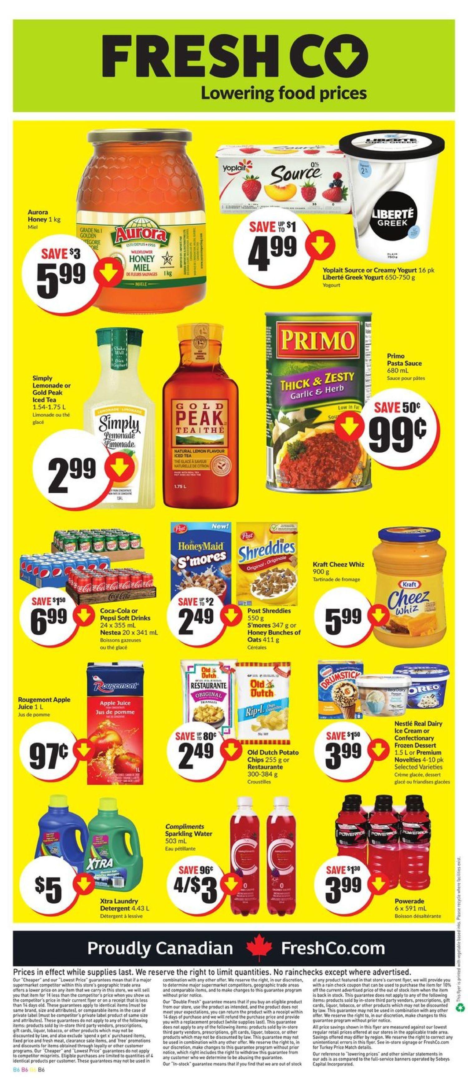 Fresh Co Weekly Flyer - Weekly - 48 Hour Sale - Aug 8 – 14