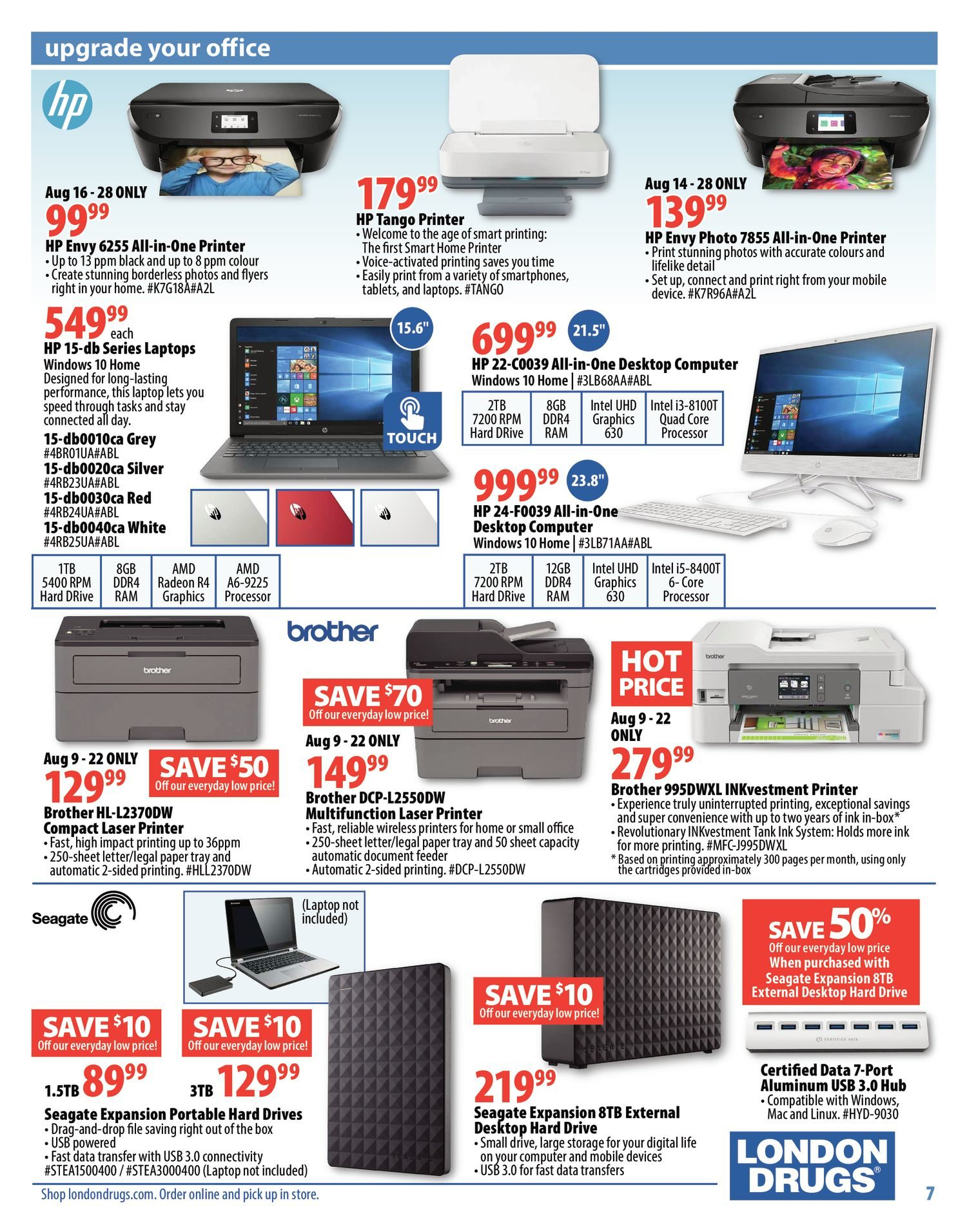 London Drugs Weekly Flyer - Get It Together - Aug 9 – 28