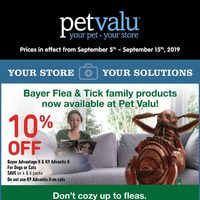 Pet Valu - 11 Days of Savings Flyer