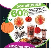 Select Halloween Baking, Decorating & Party Supplies By Celebrate It