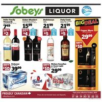 Sobeys - Liquor Flyer