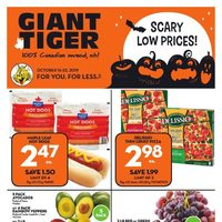 Giant Tiger - Weekly - Scary Low Prices! Flyer