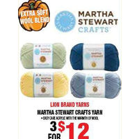 Lion Brand Yarns Martha Stewart Crafts Yarn