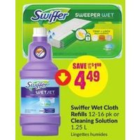 Swiffer Wet Cloth Refills Or Cleaning Solution