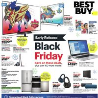 Best Buy - Weekly - Black Friday Early Release Flyer