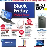 - Weekly - Black Friday Prices Now Flyer