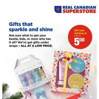 Real Canadian Superstore - Holiday Beauty Book Flyer