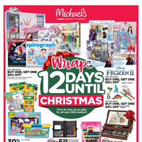 Michaels - Weekly - Wrap It Up Flyer