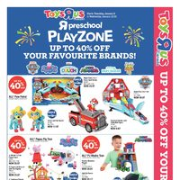 Toys R Us - 2 Great Weeks! - Preschool Playzone Flyer