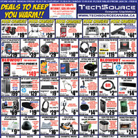 Tech Source - Deals To Keep You Warm!! Flyer