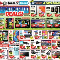 - Blockbuster Deals! Flyer