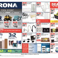 Rona - Weekly - Tool Event Flyer