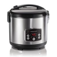 Hamilton Beach Digital Simplicity 14-Cup Rice Cooker and Steamer