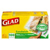 Clorox Spray, Glad Cling Wrap or Sandwich Bags