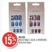 Helios False Nails, Glue Or Remover